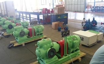 SN三螺杆泵出油少的原因及解决办法