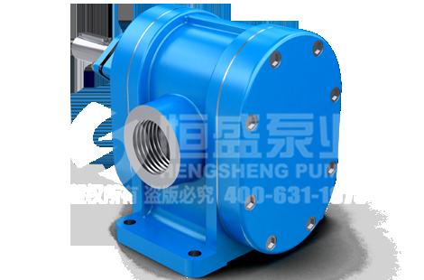 2CY齿轮泵在重油工况中材质搭配技巧