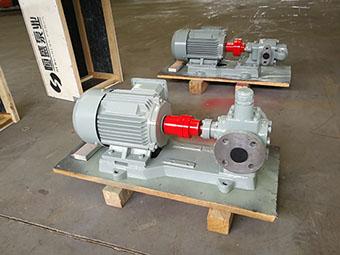 YCB圆弧齿轮泵作为主机滑油泵的优势