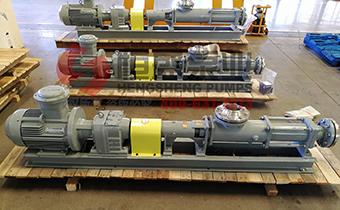 G型单螺杆泵使用时应避免的几种情况