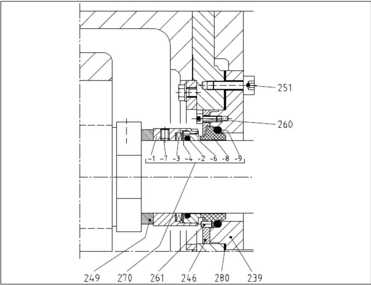 双螺杆泵针对内河,湖泊,运河等应用工况机械密封选择