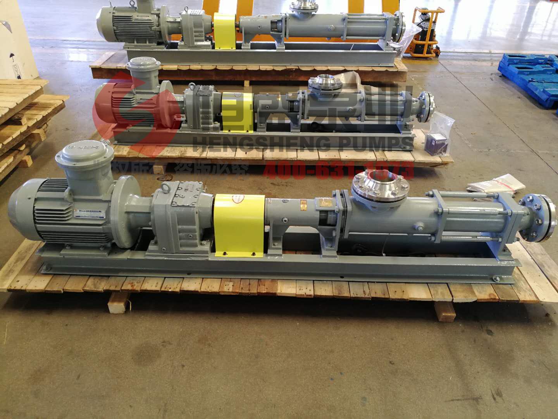污泥螺杆泵的拆卸检修与安装
