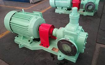 滑油泵的安装型式及使用注意事项