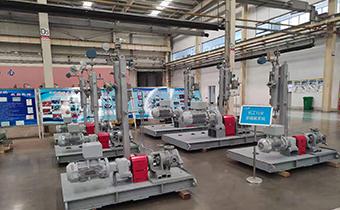 亚博体育yabo88下载泵业为某石化公司项目特制高粘度泵待发货