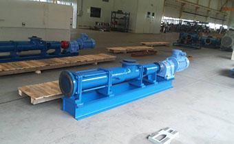 哪一款螺杆泵可以作为污水泵使用